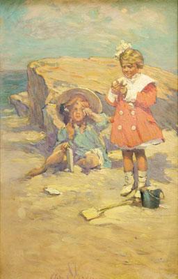 Clara Davidson - Beach Scene
