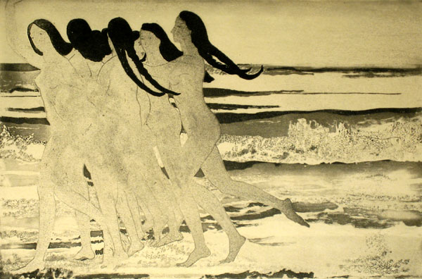 Arthur B. Davies - Sea Maidens
