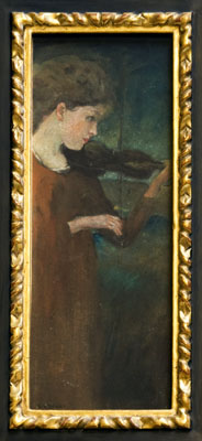 Arthur B. Davies - Girl Playing Violin