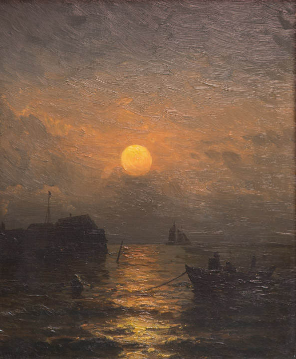 Mauritz De Haas - Coastal Moonlight