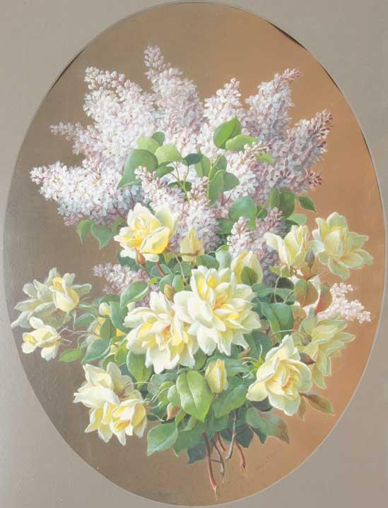 Raoul De Longpre - Still Life
