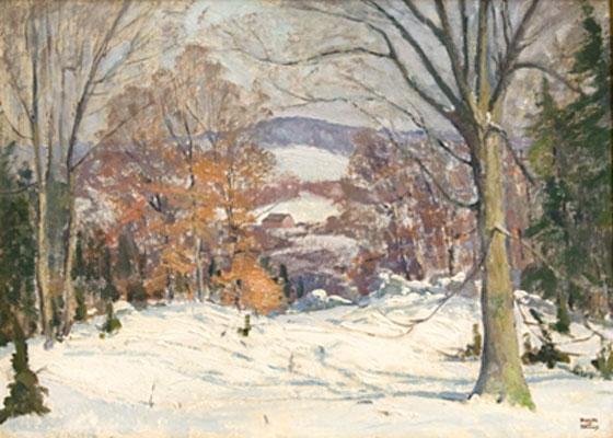 Roger Dennis - Winter Scene