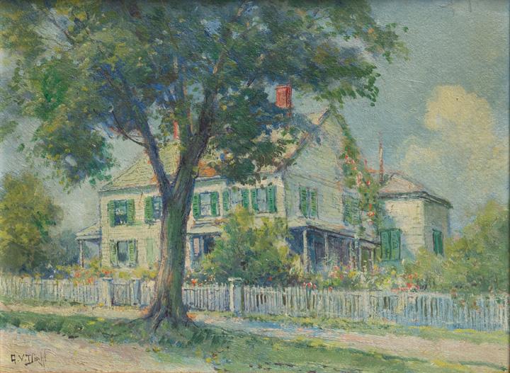 Arthur Diehl - House in Mystic, CT