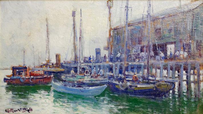 Arthur Diehl - Provincetown Dock