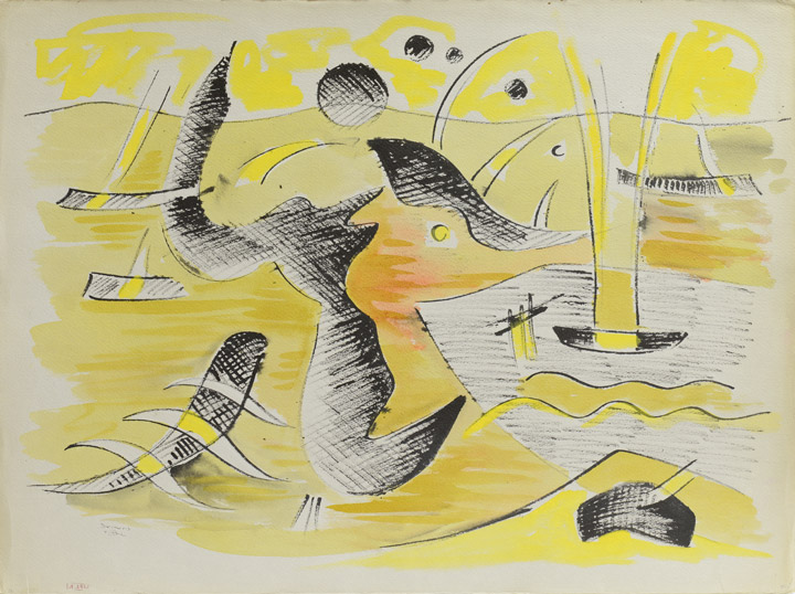 Werner Drewes - Abstract 4