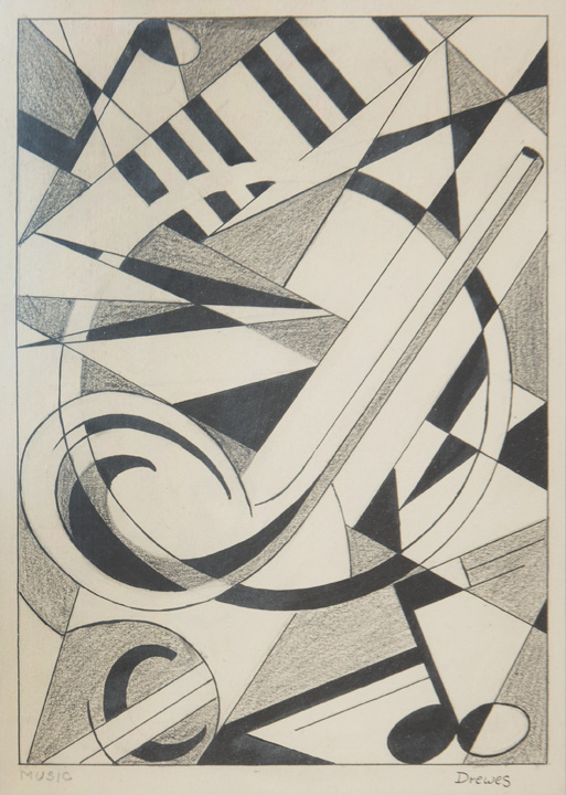 Werner Drewes - Abstract Music