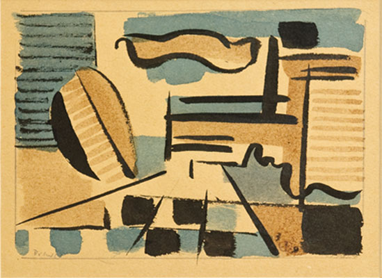 Werner Drewes - Abstract 3