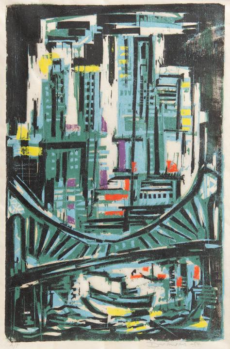Werner Drewes - Manhattan