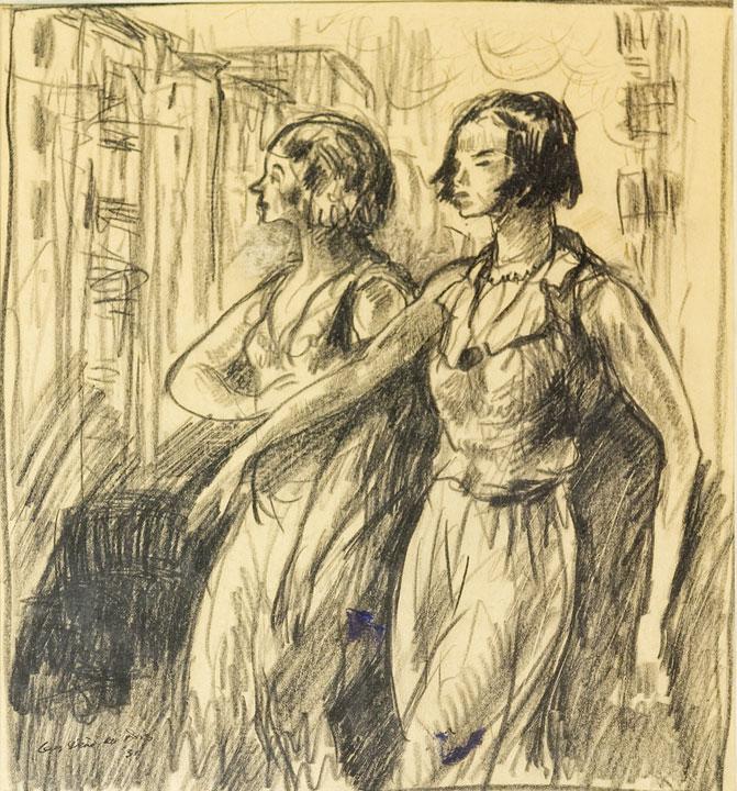Guy Pene Dubois - Women on 10th Avenue