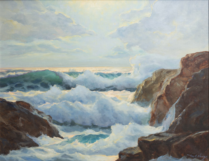 William Ehrig - Crashing Waves