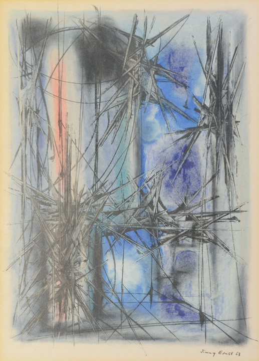 Jimmy Ernst - Landscape Variation #13