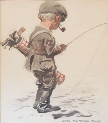 James Montgomery Flagg - Golf & Fishing