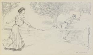 James Montgomery Flagg - Tennis Players