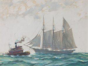 Gordon Grant - Bon Voyage