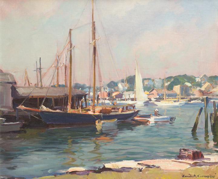 Emile Gruppe - Gloucester Harbor