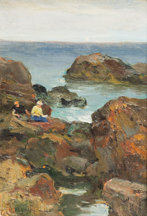 Emile Gruppe - Women on the Rocks
