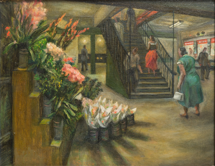 Bernard Gussow - Flower Vendor