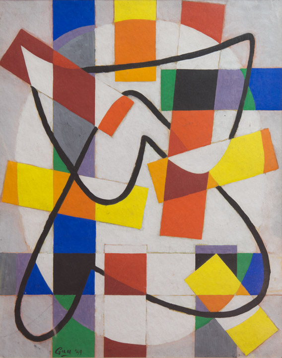 James Guy - Abstract 3