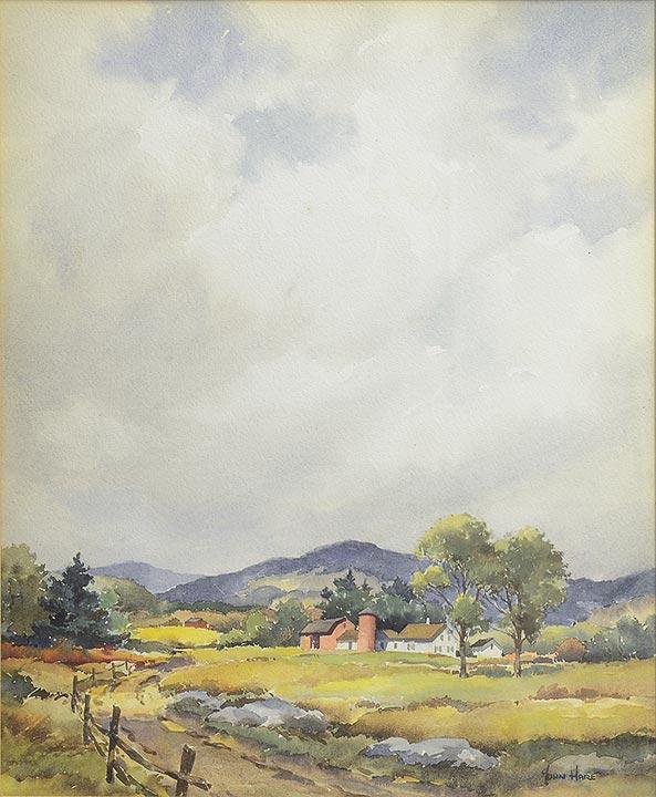 John Hare - Farm Scene