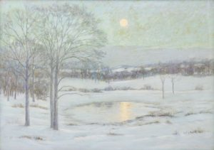 Birge Harrison - Snow Scene