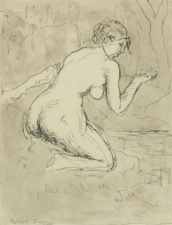 Robert Henri - Nude