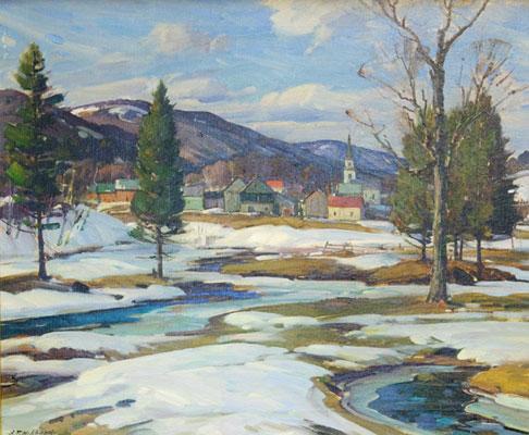 Aldro Hibbard - Snow Scene 1