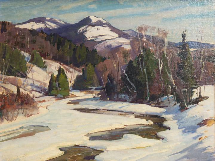 Aldro Hibbard - Snow Scene 3