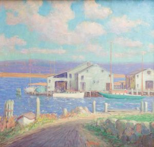 Harry Hoffman - Essex CT Harbor