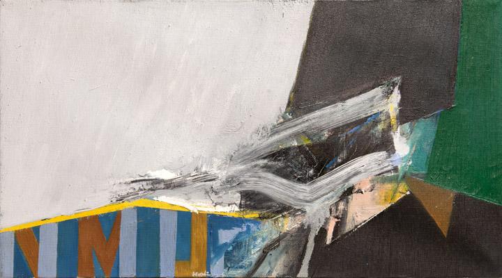 Budd Hopkins - Abstract