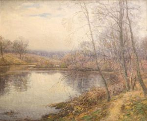 Wilson Irvine - Lyme Landscape