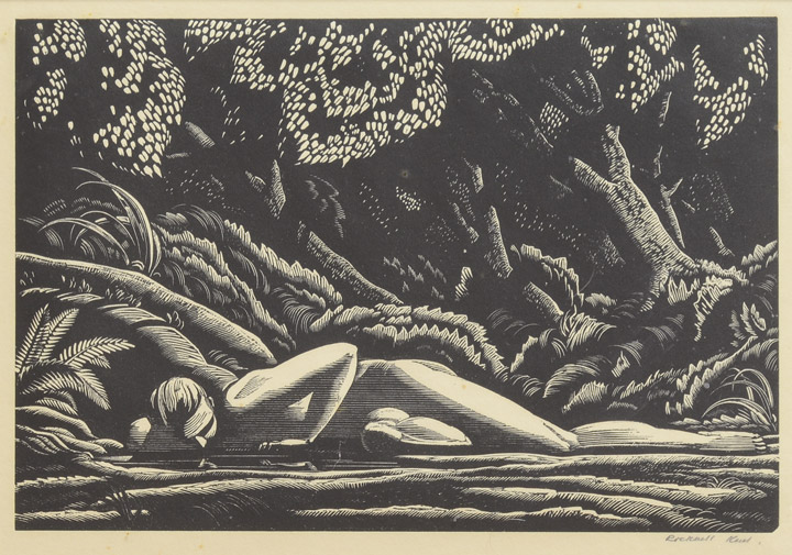Rockwell Kent - Forest Pool
