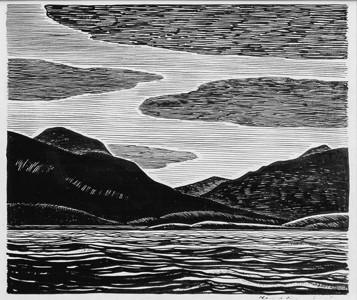 Rockwell Kent - Tierra del Fuego