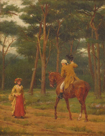 G. G. Kilbourne Jr. - Man on Horse with Woman