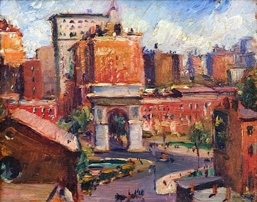 Max Kuehne - Washington Square, NYC