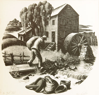 Clare Leighton - The Grist Mill