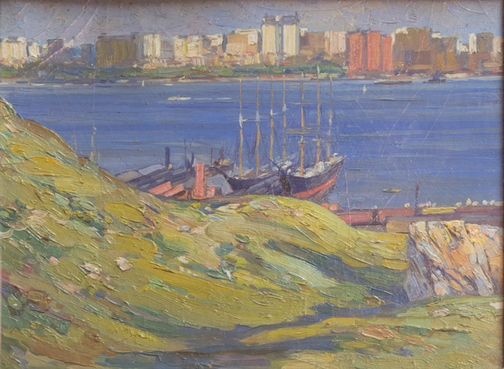 Martin Lewis - New Jersey Boatyard