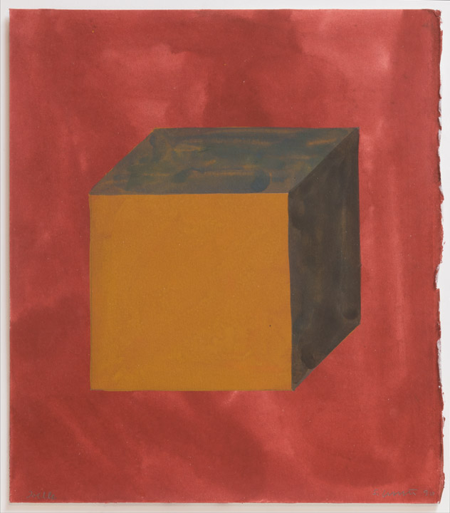 Sol LeWitt - Abstract Cube