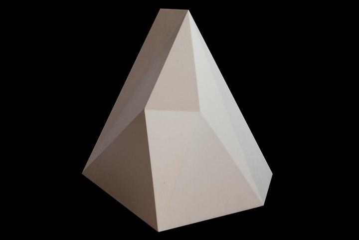 Sol LeWitt - Geometric Wood Sculpture