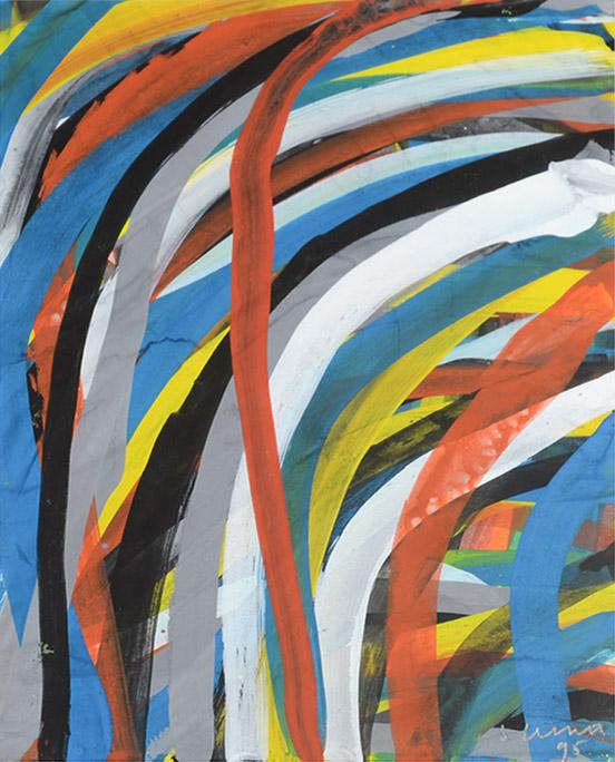Sol LeWitt - Wavy Lines 1