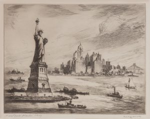 Nat Lowell - New York Harbor