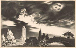 Louis Lozowick - Angry Skies