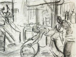 George Luks - The Brewery
