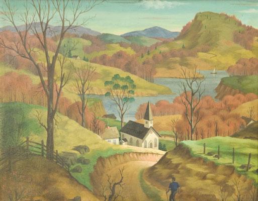 George Marinko - Landscape 2
