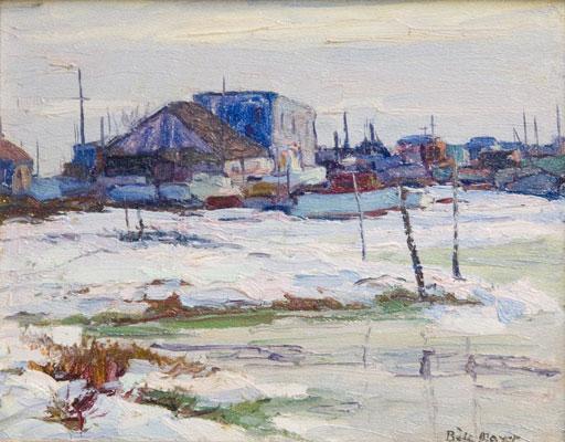 Peter Bela Mayer - Winter Scene