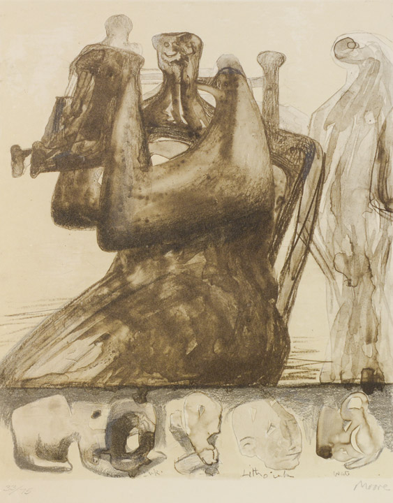Henry Spencer Moore - Abstract