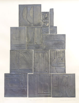 Louise Nevelson - The Wall