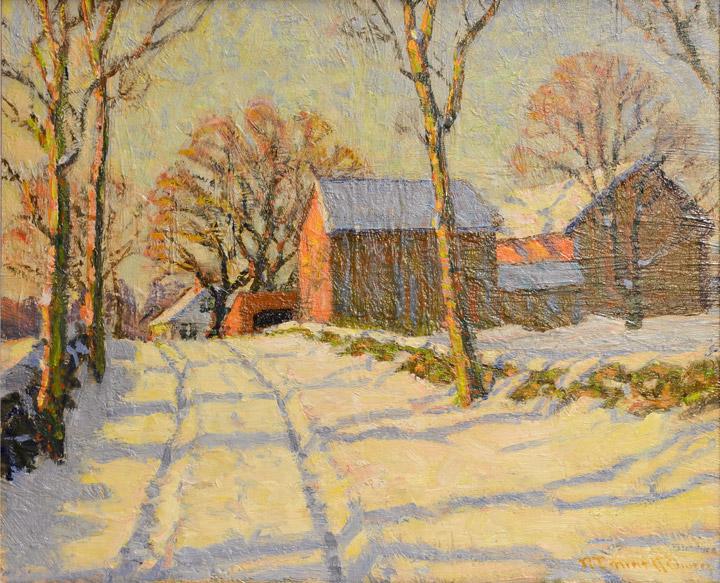 Robert Emmett Owen - Snow Scene 2