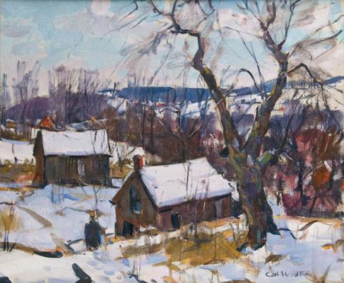 Carl Peters - Snow Scene