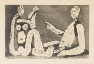 Pablo Picasso - Homme et Femme Block 1210