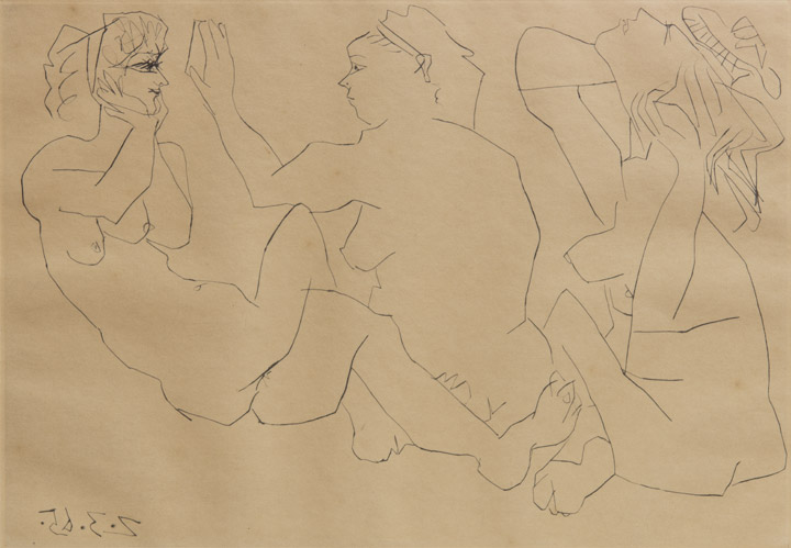 Pablo Picasso - Trois Femmes